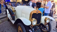 historické vozidlo PRAGA A, rok výroby 1914 s výrobním číslem 338
