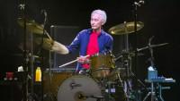 Charlie Watts, bubeník Rolling Stones.