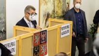 Andrej Babiš odvolil ve volbách do Poslanecké sněmovny. (8.10.2021)