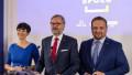 Petr Fiala, Markéta Pekarová Adamová a Marian Jurečka.