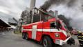 V pražských Malešicích hoří v jedné z budov spalovny. (20.10.2021)